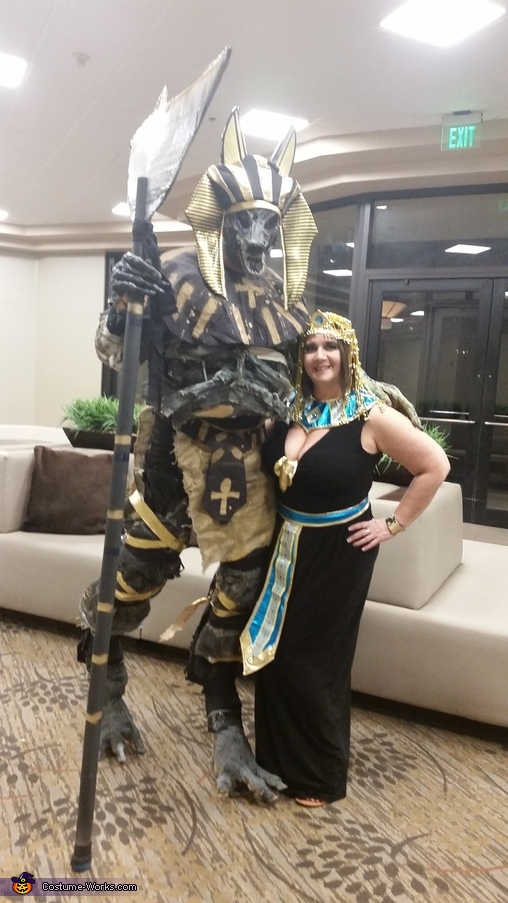 Anubis and Egyptian Queen Costume