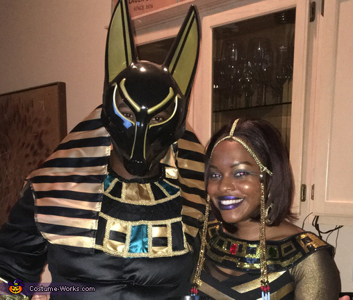 Anubis and his Egyptian Queen Costume
