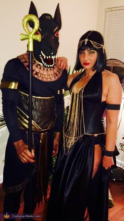 Anubis & Isis Costume