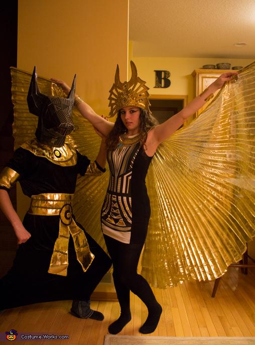 Anubus & Isis Couples Costume
