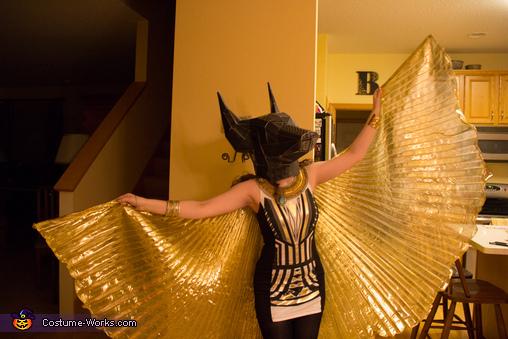 Egyptian Gods Anubis & Isis Costume