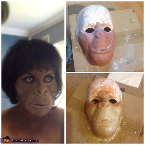 Ape Woman Homemade Costume