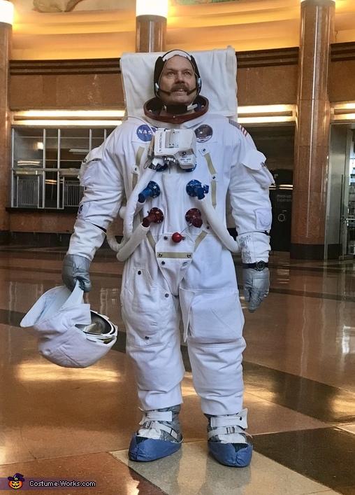 Apollo 11 A7l Astronaut Suit Costume