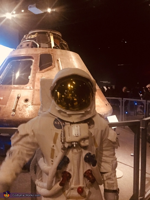 Apollo 11 A7l Astronaut Suit Homemade Costume
