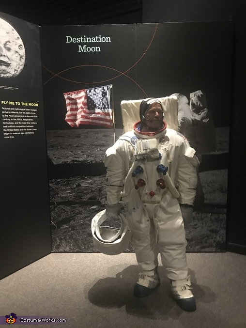 Apollo 11 A7l Astronaut Suit Homemade Costume