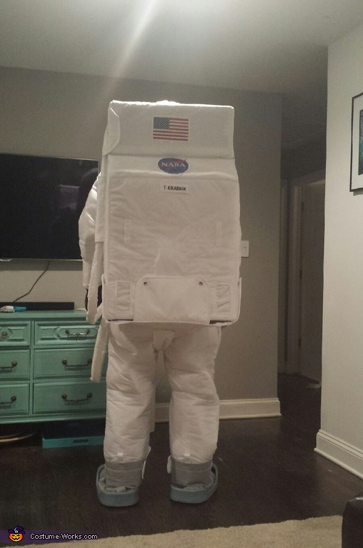 Apollo Astronaut Homemade Costume