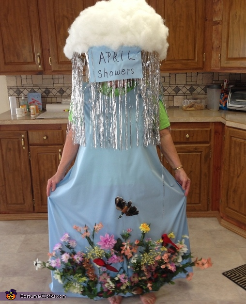 April Showers bring May Flowers Costume