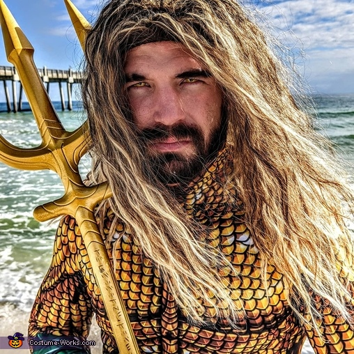 Aquaman Homemade Costume