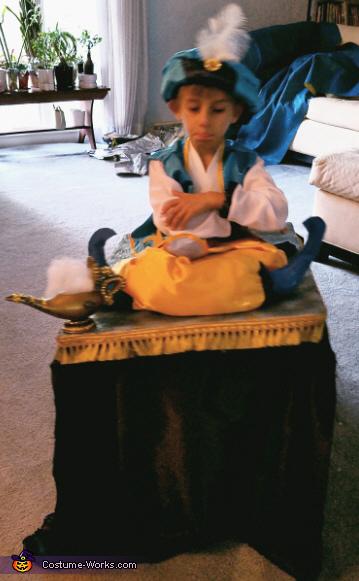 Arabian Prince on Flying Carpet Costume