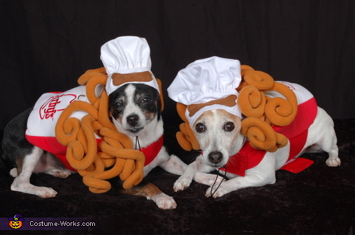 Arby's Curly Fries Dogs Costume