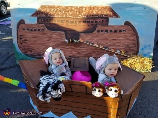 Noah's Arc Family Homemade Costume