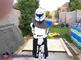 ARC Captain Rex Homemade Costume