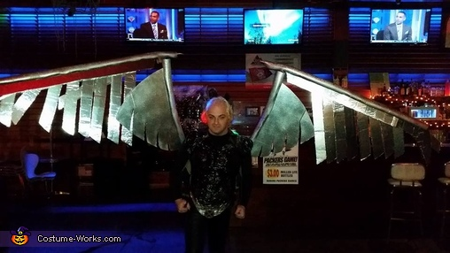 Wings Out, Archangel Costume