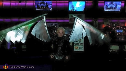 Wings In Motion, Archangel Costume