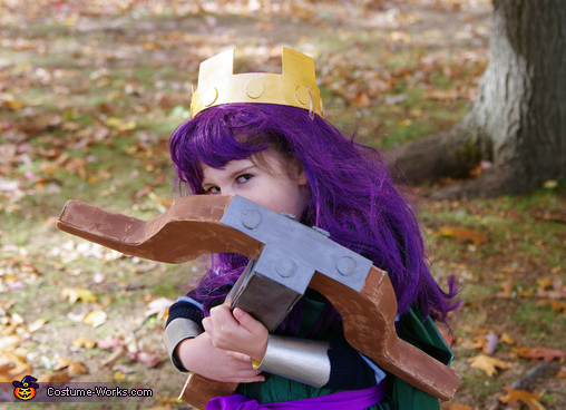 Archer Queen, Clash of Clans Family Costume