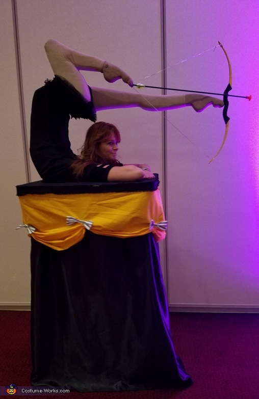 Archery Contortionist Costume