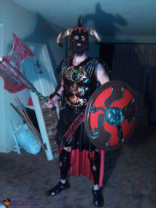 Ares God of War Costume