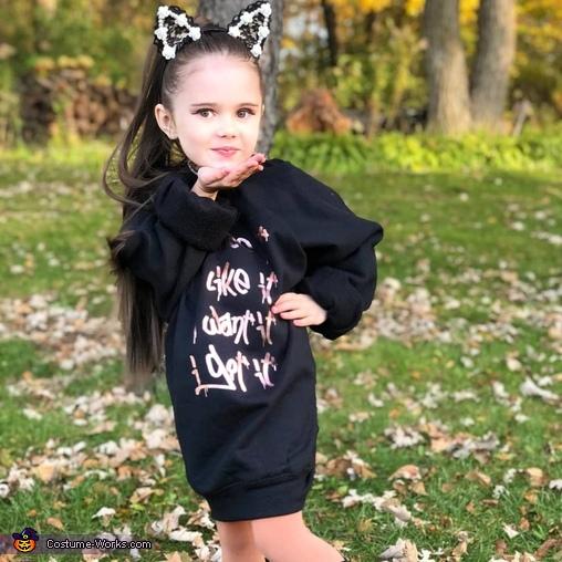 Ariana Grande Homemade Costume