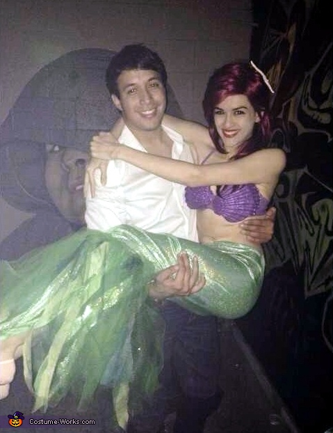 Ariel and Eric Couple Costume