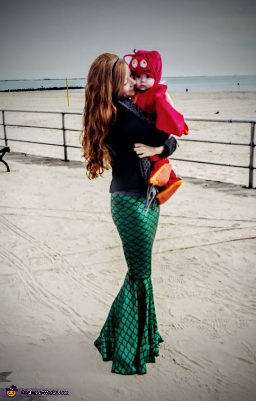 Ariel and Sebastian Costume