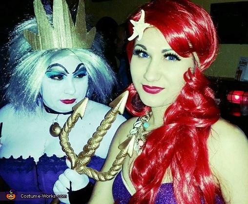 Ariel and Ursula Costume