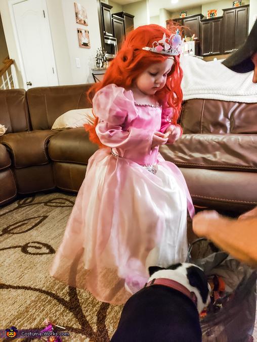 Ariel and Ursula Homemade Costume