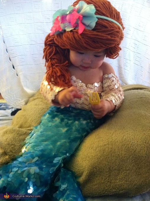 Ariel from The Little Mermaid Baby Costume