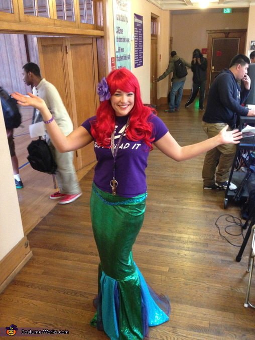 Ariel Costume  sc 1 st  Costume Works & Ariel Costume - High School Principal Style - Photo 7/8