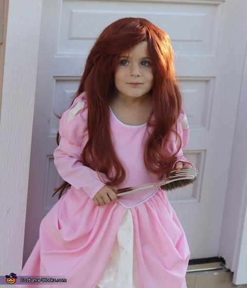 Ariel in Pink Costume