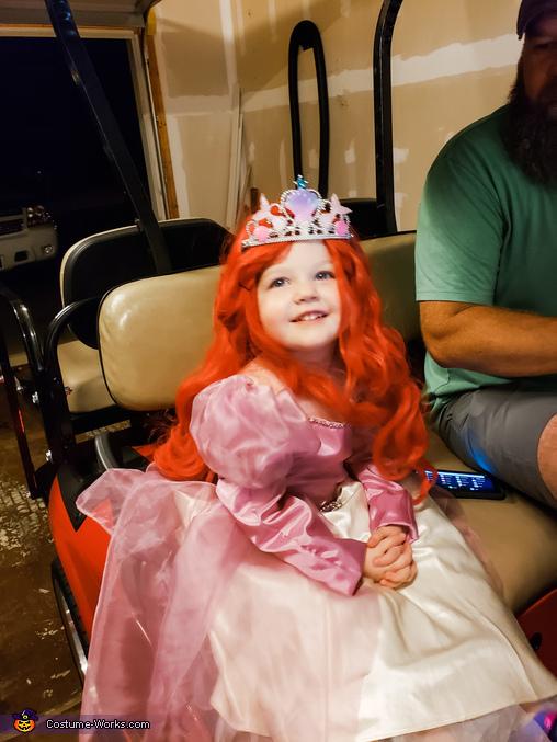 Ariel the Little Mermaid Homemade Costume