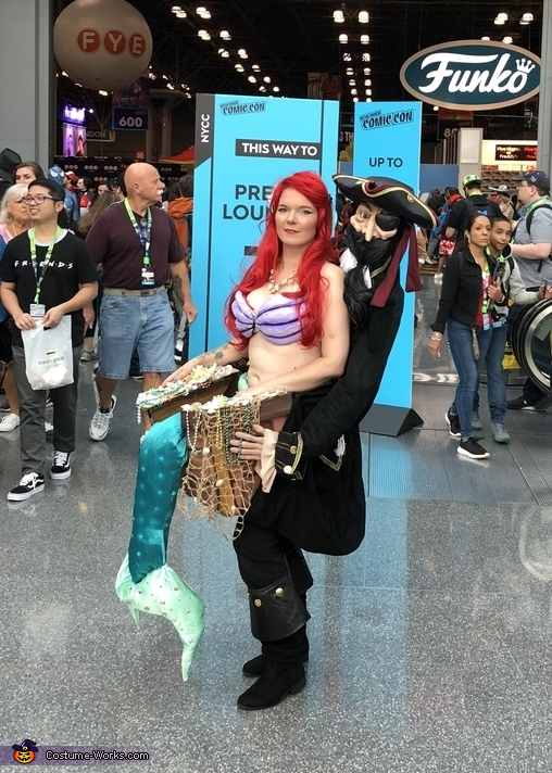 Ariel the Little Mermaid Kidnapped Costume