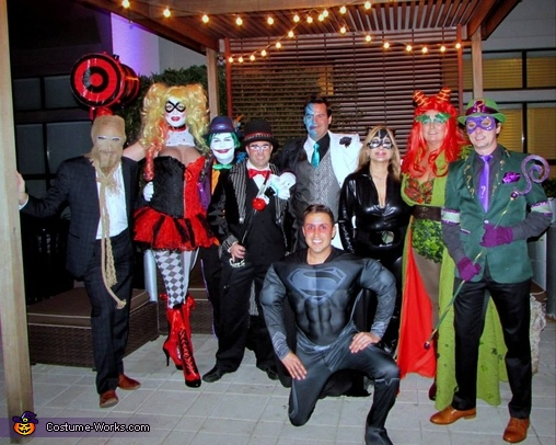 Arkham City Villains Group Costume