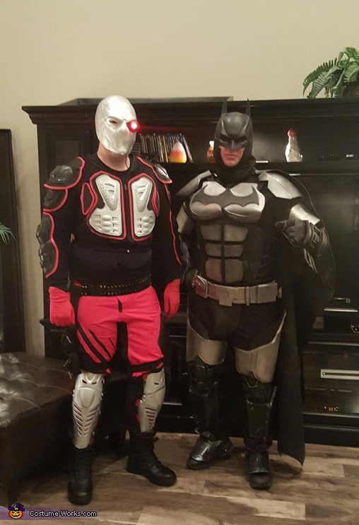 Arkham Knight vd Deadshot, Arkham Origins Batman Costume