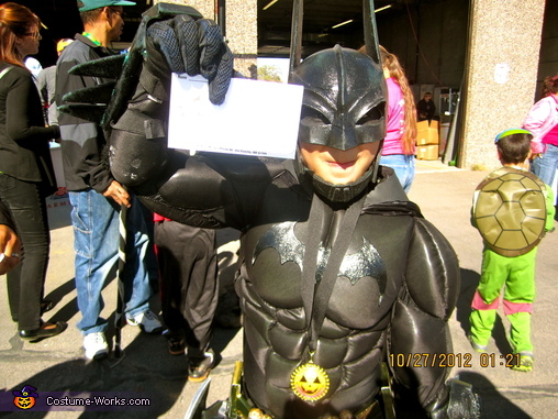 Armored Batman Homemade Costume
