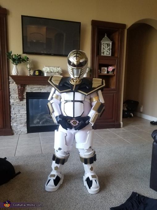 Armored White Ranger Homemade Costume