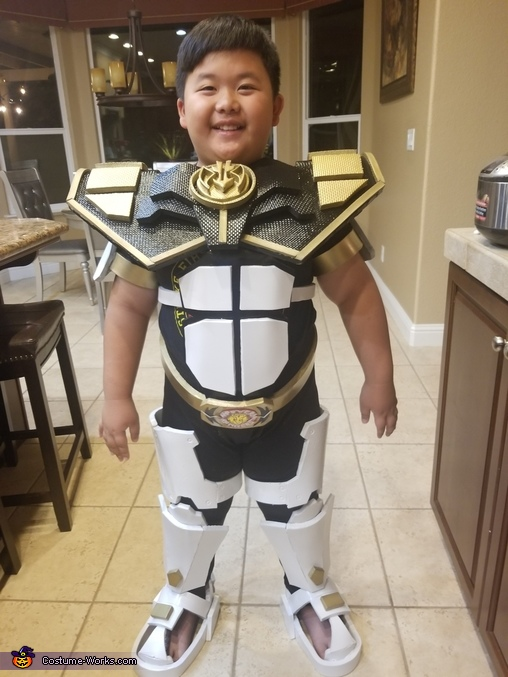 Armored White Ranger Homemade Costume