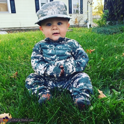 Army Strong Costume
