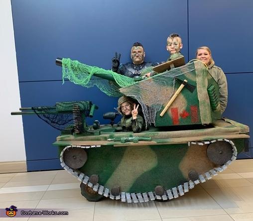 Army Tank Costume