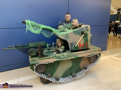 Army Tank Homemade Costume