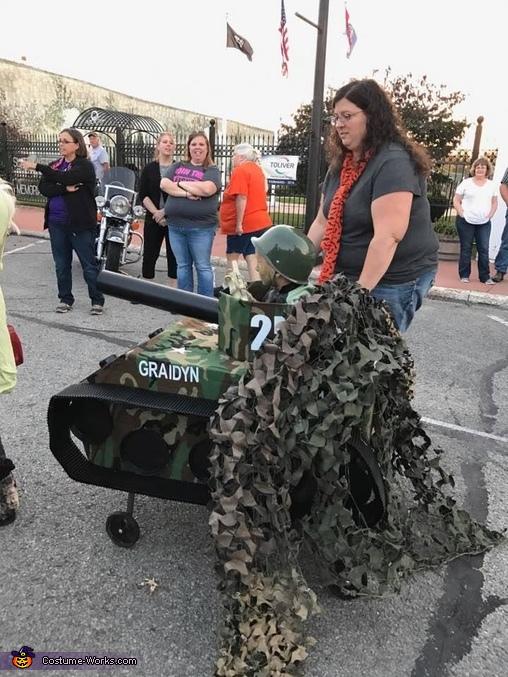 Tank 2, Army Tank Costume