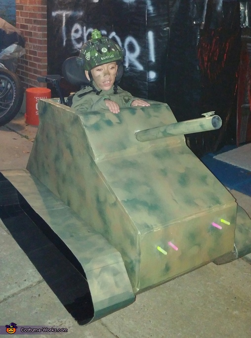 Army Tank Driver Costume