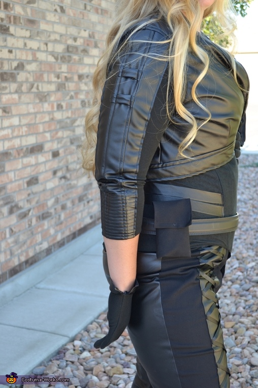 Arrow Black Canary Homemade Costume