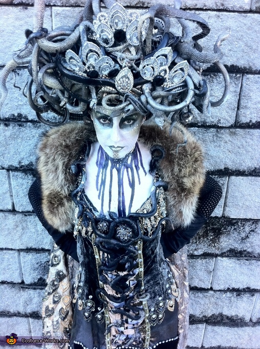 Art Deco Medusa Costume
