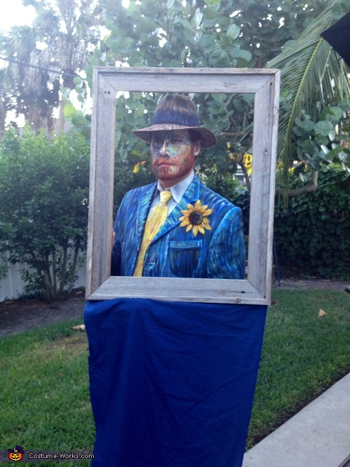 Artist painting Van Gogh Couples Costume
