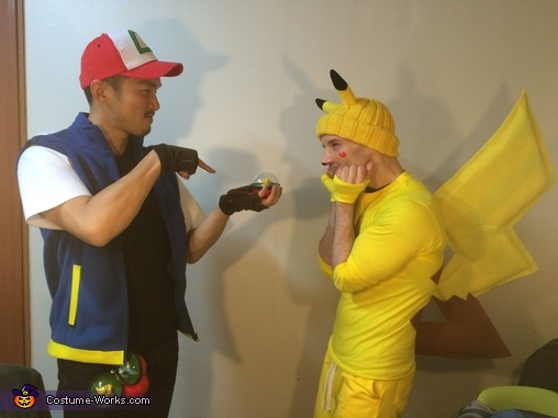 Get in your home!, Ash and Pikachu Costumes