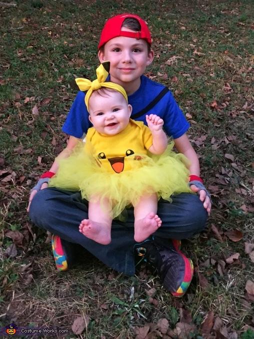 Ash and Pikachu, Ash and Pikachu Costume