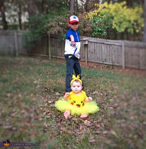 Ash and Pikachu, Ash and Pikachu Costume