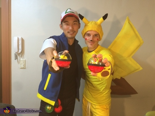 Pokemon!, Ash and Pikachu Costume