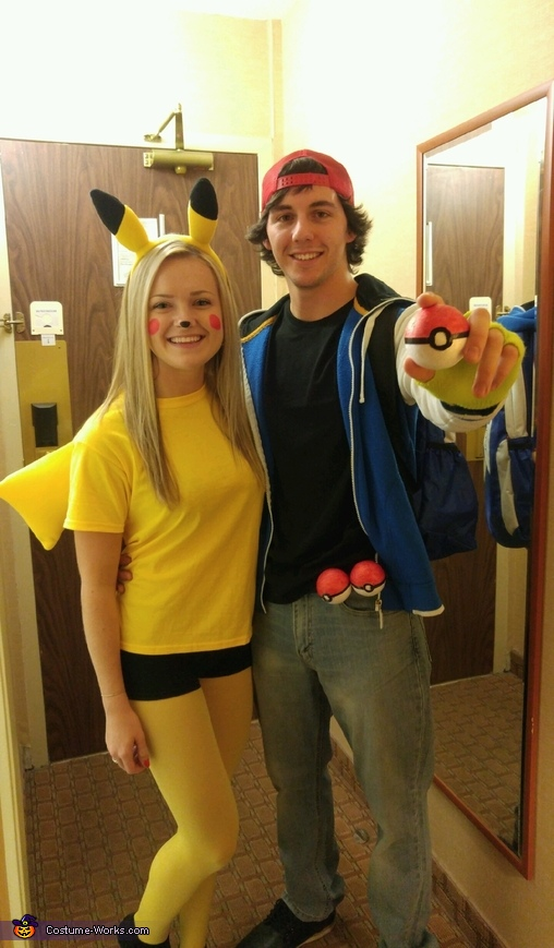 Ash and Pikachu Costume