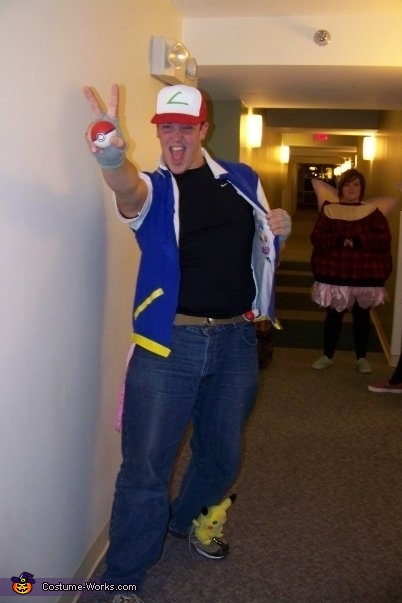 Ash Ketchum - Homemade costumes for men